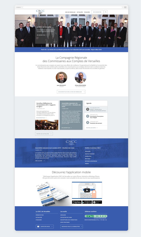 Cam.Lab. webdesign CRCC Versailles