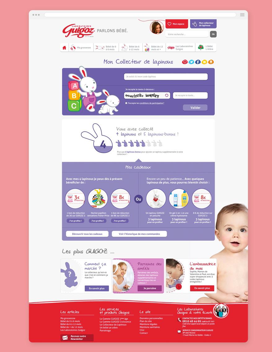 Cam.Lab. webdesign Guigoz Collecteur de Lapinous