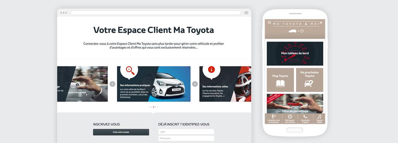 Cam.Lab. webdesign Ma Toyota espace adhérent cover