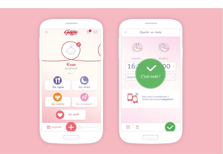 Cam.Lab. webdesign Guigoz application présentation