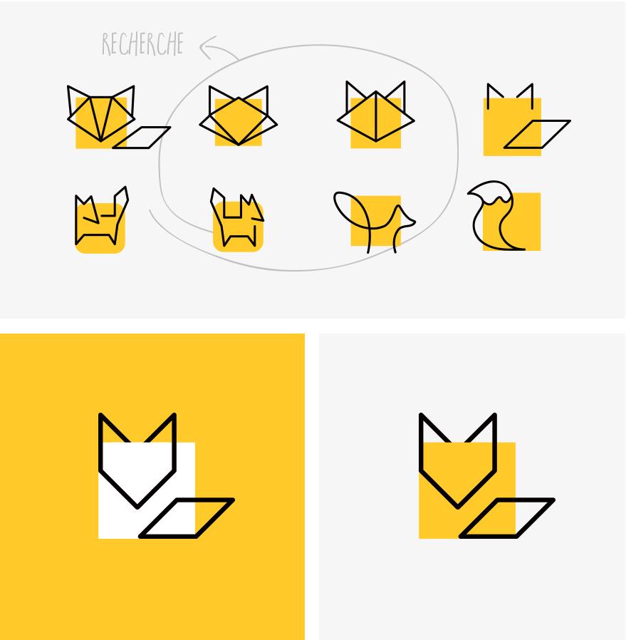 Foxcub - identite visuelle - logo - Camille Labory